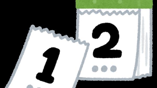 箔押カレンダー [アロー企画 清宮] 2021/6/24